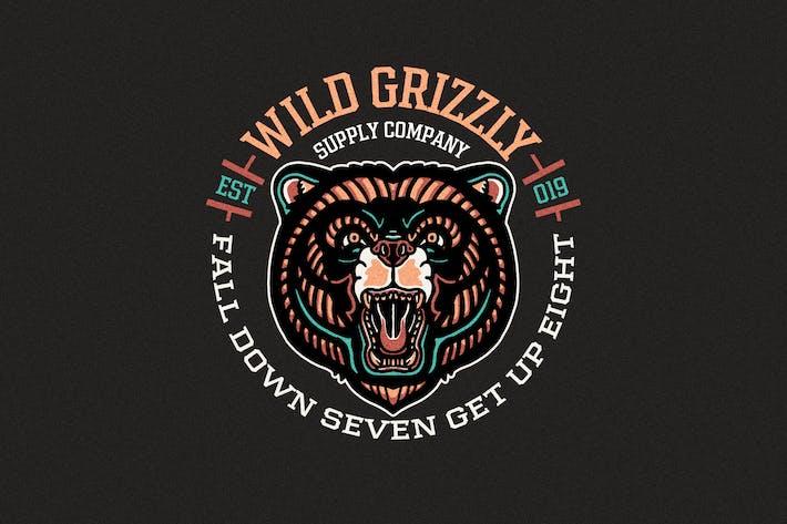 Thumbnail for Bear Badges Logo