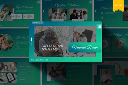 Medical Recipe | Google Slides Template