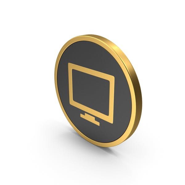 Thumbnail for Monitor Icon Gold
