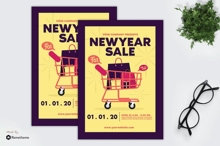 Thumbnail for New Year Sale - Flyer GR