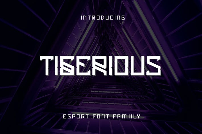 Thumbnail for Tigerious - Modern Sport Font DR
