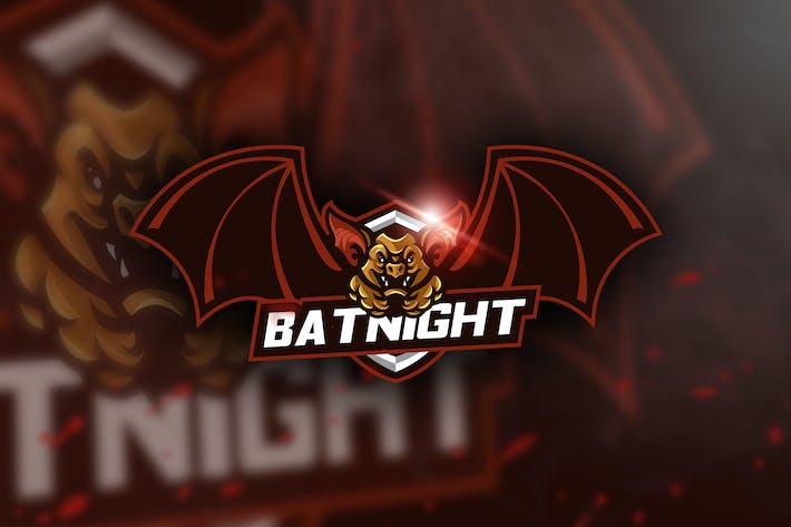 Thumbnail for Batnight - Mascot & Esport Logo