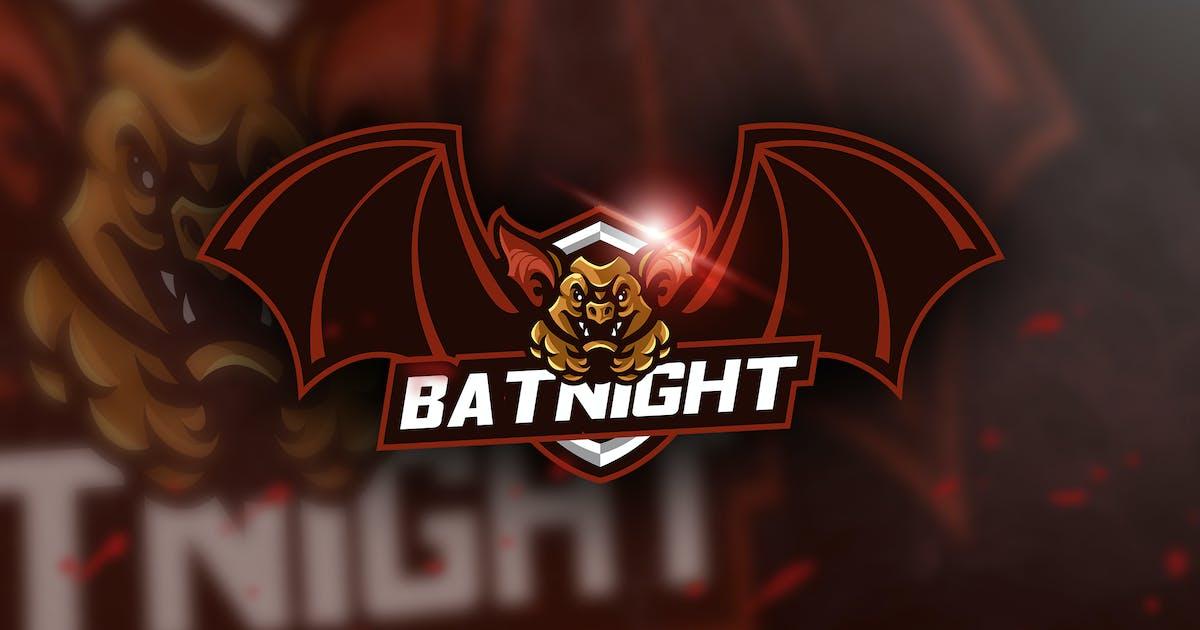 Download Batnight - Mascot & Esport Logo by aqrstudio