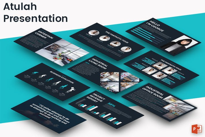 Thumbnail for ATULAH - Powerpoint Presentation Template