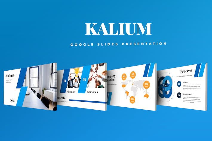 Thumbnail for Kalium Google Slides Presentation