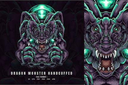 Dragon Monster Handcuffed