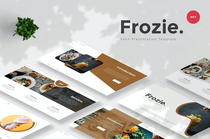 Thumbnail for Food PowerPoint Template