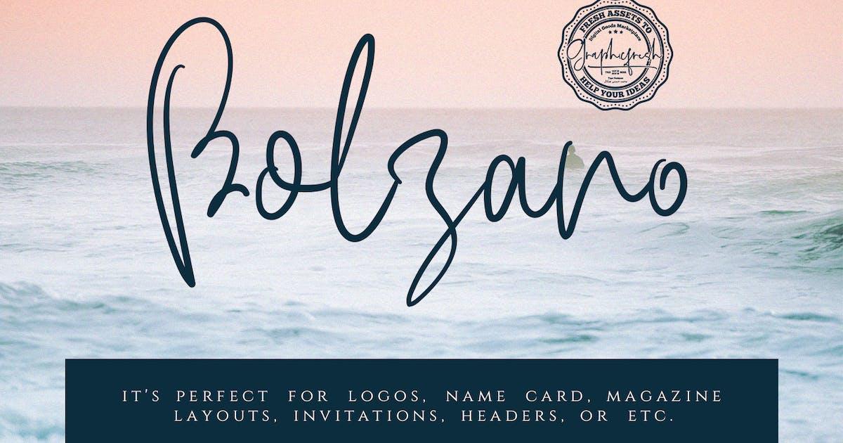 Download Bolzano - A Beautiful Script Font by sameehmedia