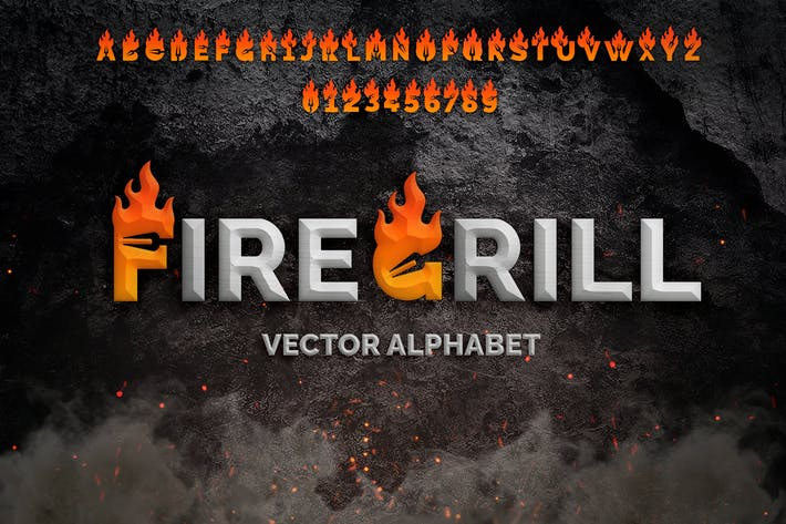 Thumbnail for Fire Grill Alphabet