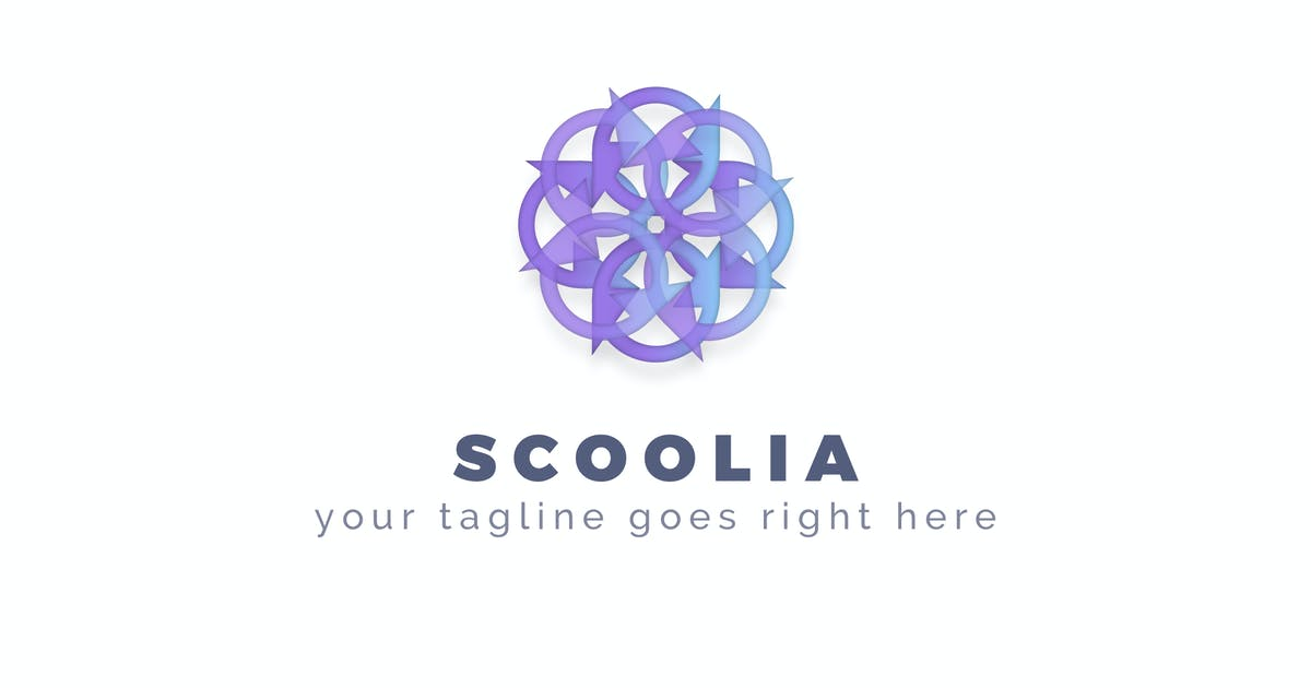 Download Scoolia - Abstract Logo Template by ThemeWisdom
