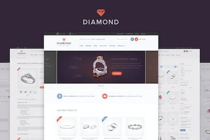 Diamond — Responsive Magento Theme