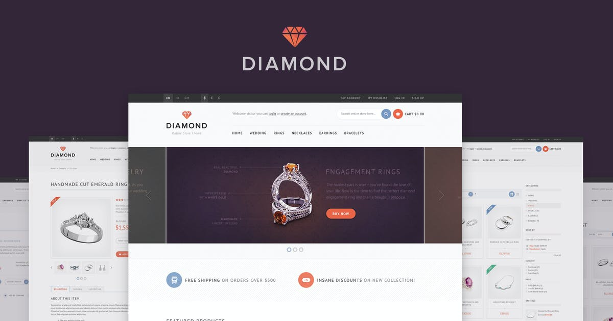Download Diamond — Responsive Magento Theme by WpWay_