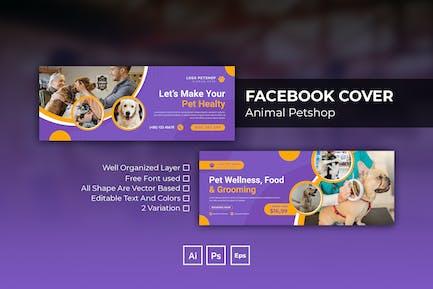 Animal Petshop Facebook Cover