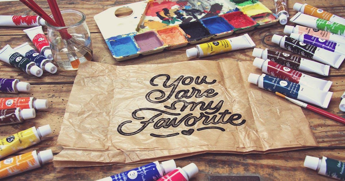 Download Crumpled Paper Bag Horitzontal by SmartDesigns_eu