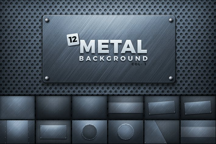 Thumbnail for Metal Backgrounds