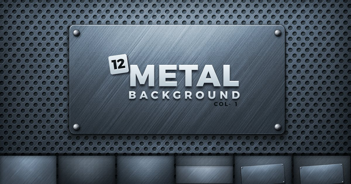 Download Metal Backgrounds by creativeartx