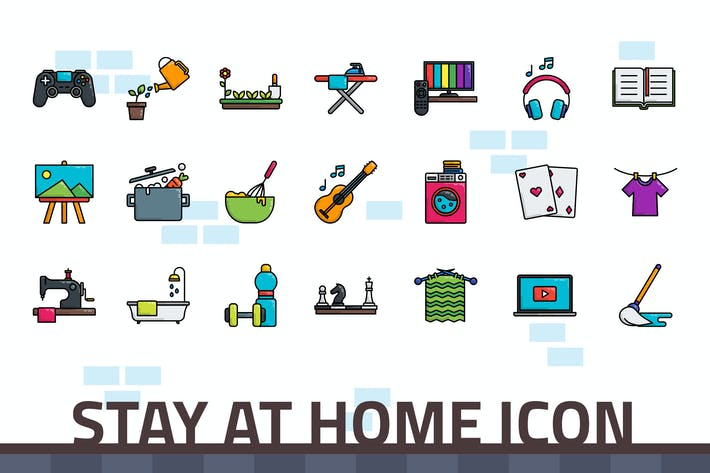 Thumbnail for Stay at Home Icon
