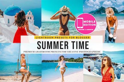 Summer time Lightroom presets