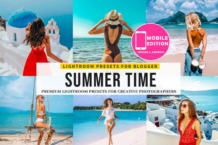 Thumbnail for Summer time Lightroom presets
