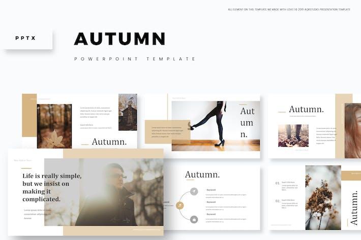 Thumbnail for Autumn - Powerpoint Template