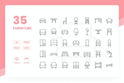Furniture - Icons Pack