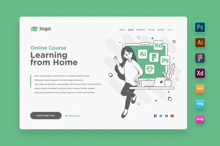 Thumbnail for Landing Page V04 - Online Course
