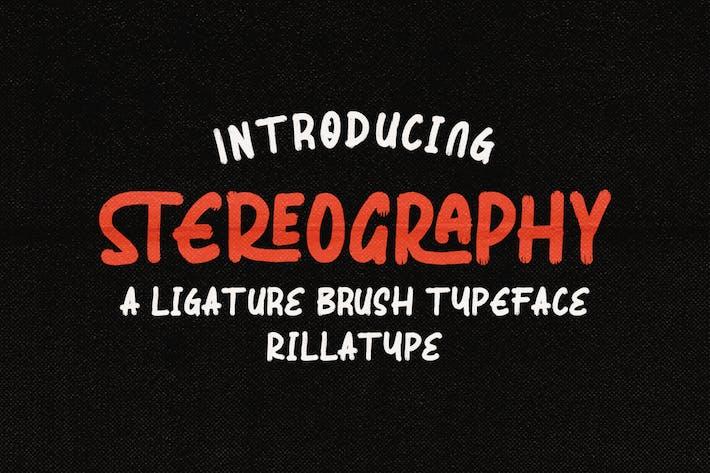 Stéréographie - Ligature Pinceau