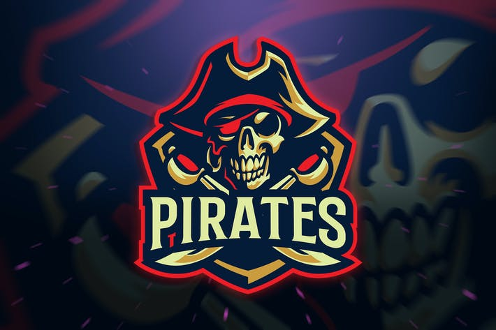 Thumbnail for Pirates Sport/Esport Logo