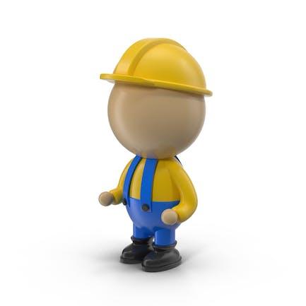 Cartoon Engineer Character