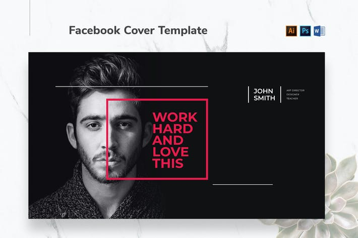 Thumbnail for Art Director Facebook-Cover