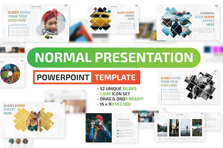 Cover Image For Normal Powerpoint Presentation Template