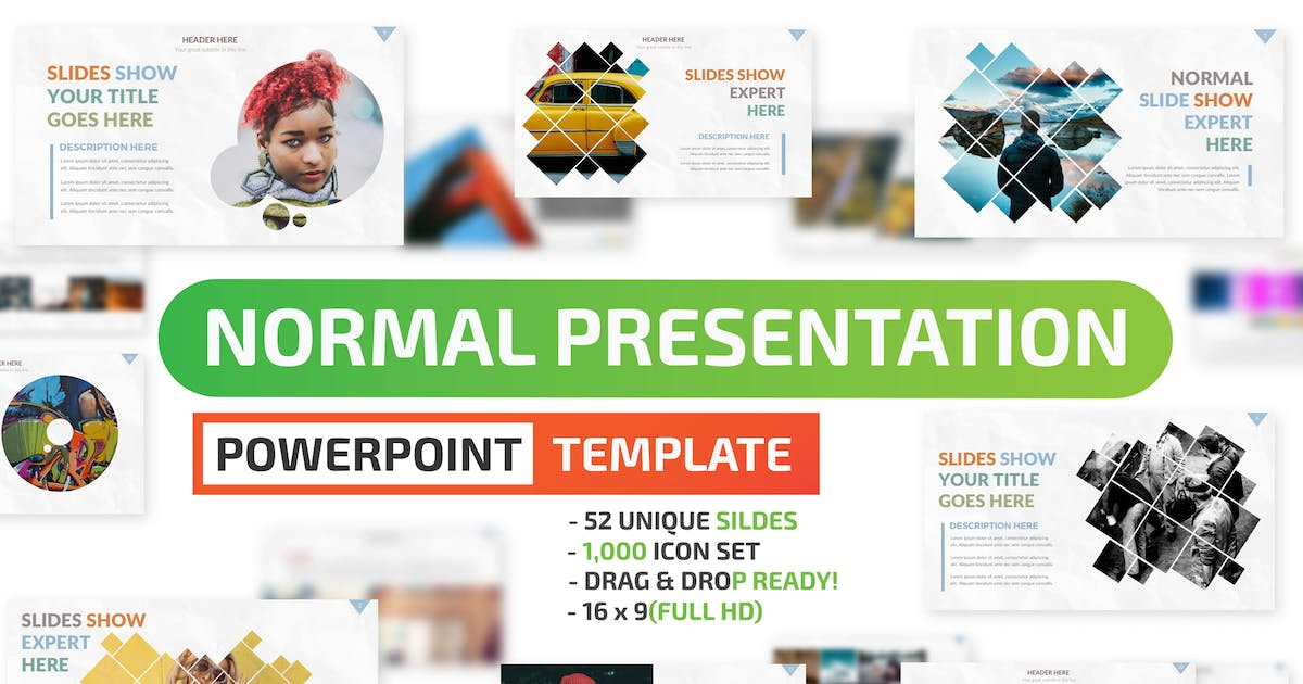 Download Normal Powerpoint Presentation Template by mamanamsai