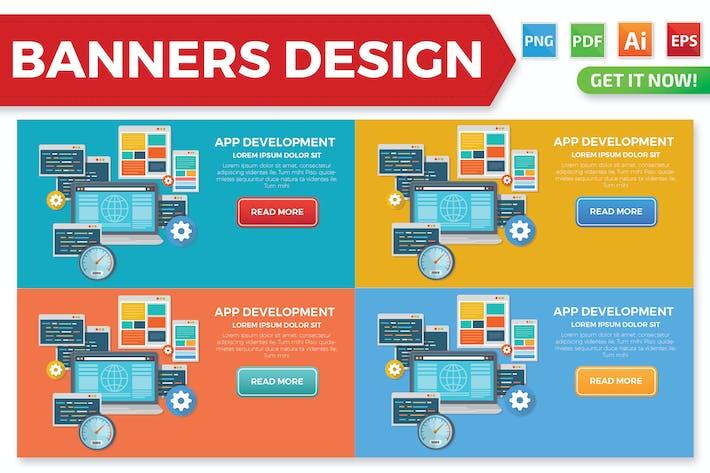 Thumbnail for Design von Bannern für App Entwicklung