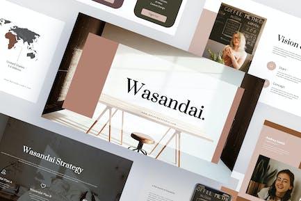Wasandai - Creative Powerpoint Template