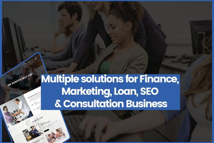 Thumbnail for Freelancer Website Design Marketing, Loan, SEO