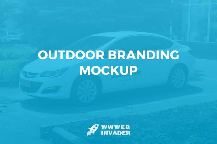 Outdoor Branding Mockup