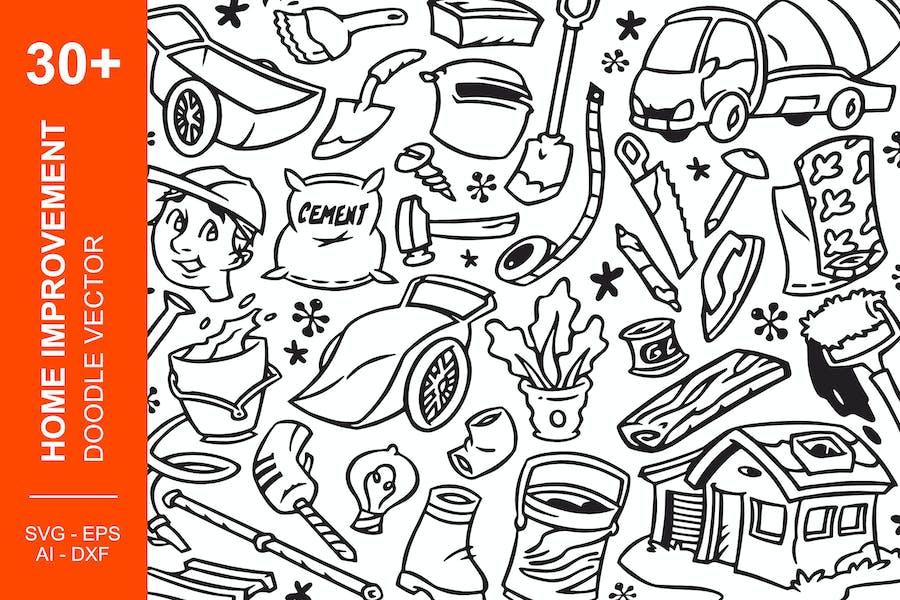 Home Improvement Doodles