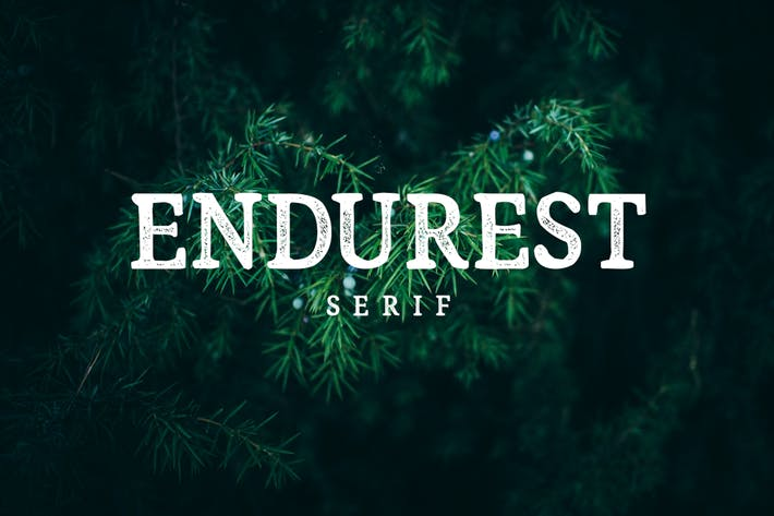 Thumbnail for Endurest Font