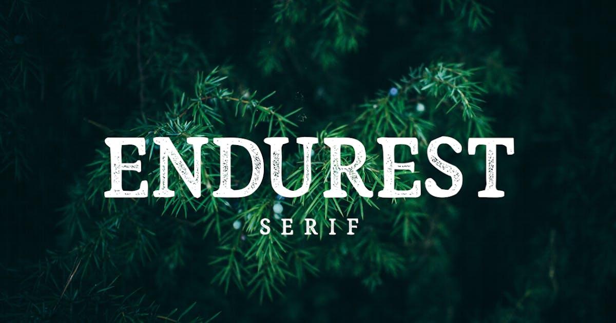 Download Endurest Font by TheBrandedQuotes