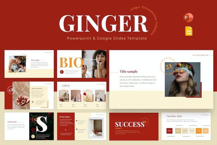 Ginger Powerpoint & Google Slides Template