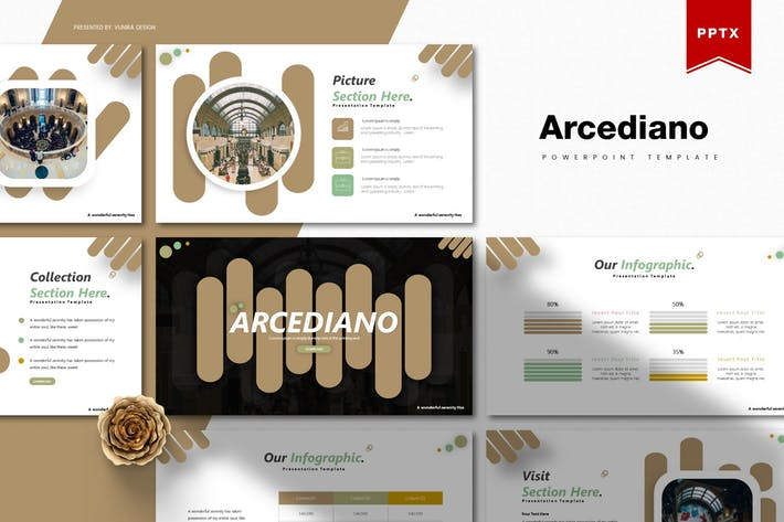 Thumbnail for Arcediano | Powerpoint Template