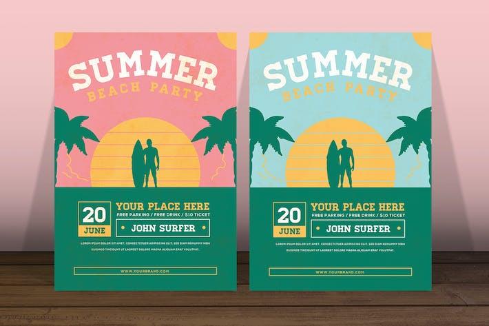 Thumbnail for Beach Surfer Flyer