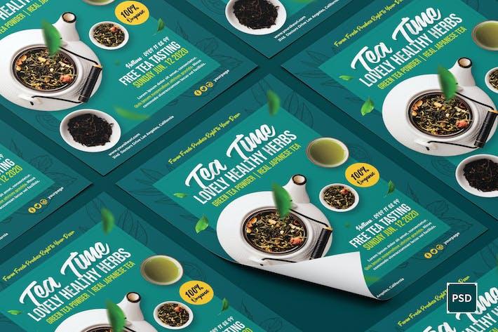 Thumbnail for Grüner Tee Flyer