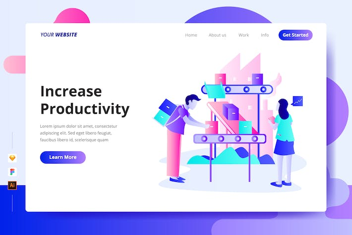 Thumbnail for Increase Productivity - Landing Page