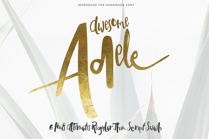 Thumbnail for Adele typeface