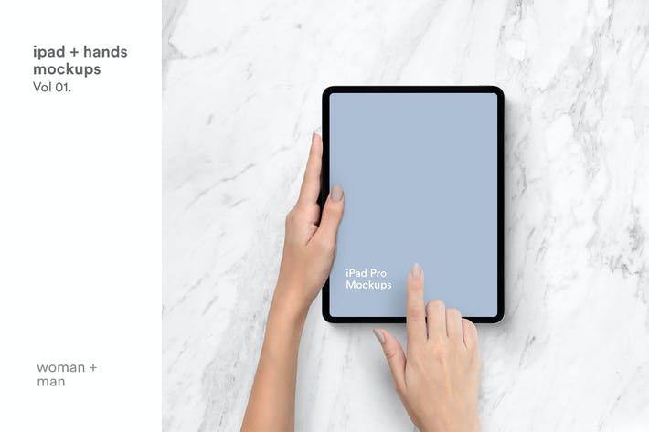 Thumbnail for iPad Mockups vol03