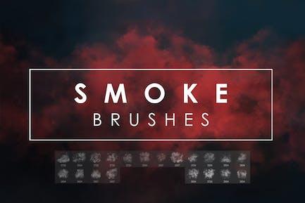 20 Дым Photoshop Кисти