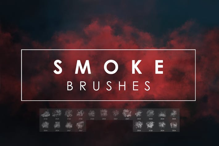 Thumbnail for 20 Smoke Photoshop Brushes