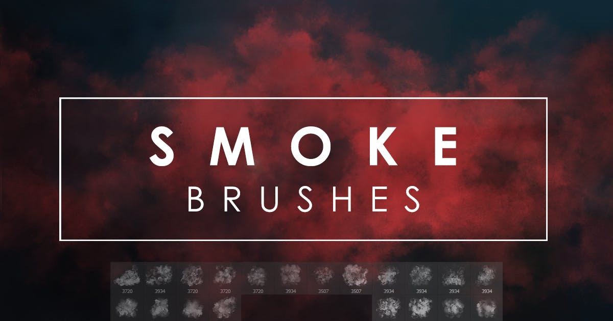 Download 20 Smoke Photoshop Brushes by FreezeronMedia