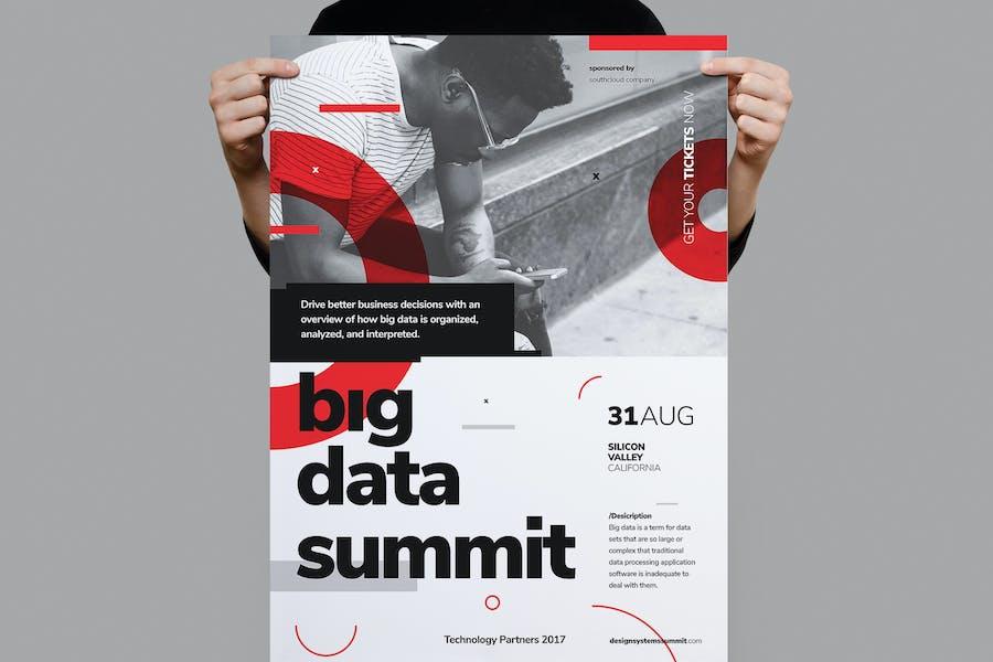 Big Data Conference Poster / Flyer
